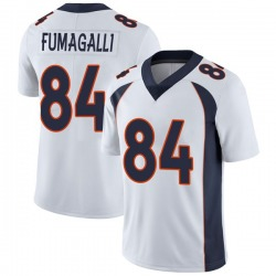Troy Fumagalli Denver Broncos Youth Limited Vapor Untouchable Nike Jersey - White